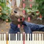 実写版「ピーターラビット 」主題歌「I Promise You」のピアノチュートリアル